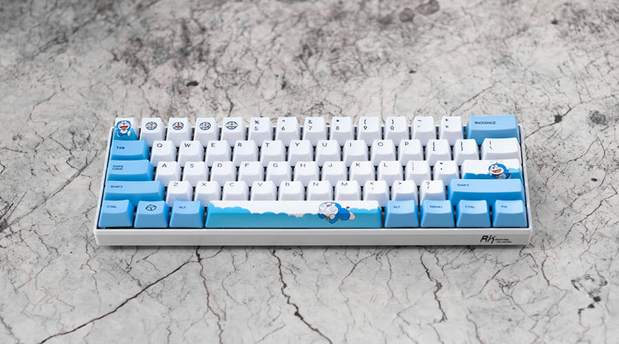 Picture of a TKL keyboard, in the guide choosing the best keyboard for VALORANT.