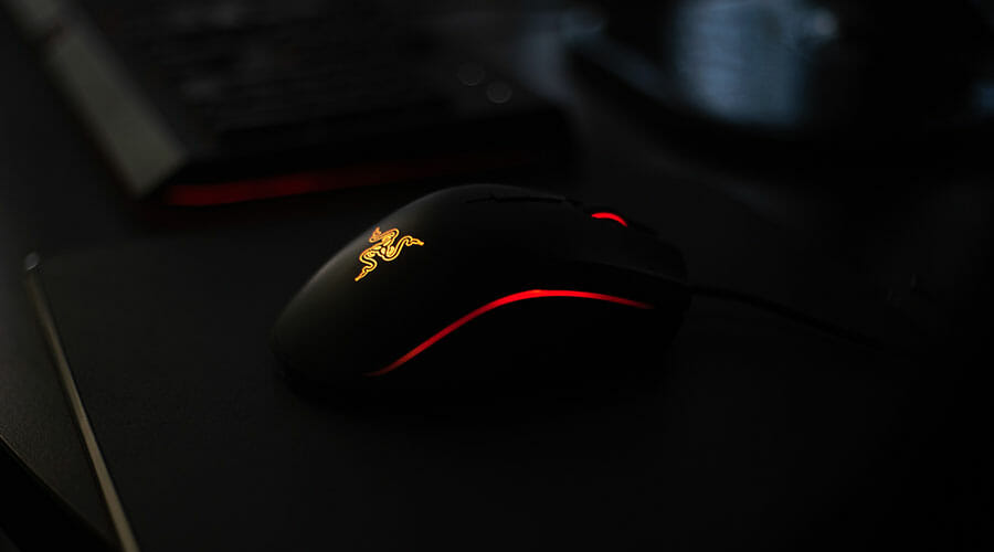 This is an example of a Razer mouse. Razer is considered one of the best gaming peripheral companies when it comes to finding the best gaming mice for palm grip.