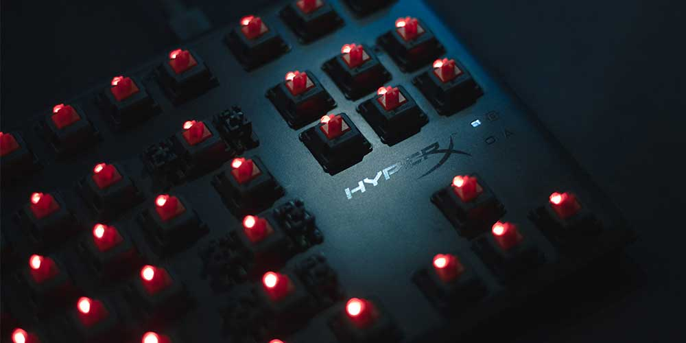 HyperX Mechanical Switches. The best keyboard for League of Legends has great switches.
